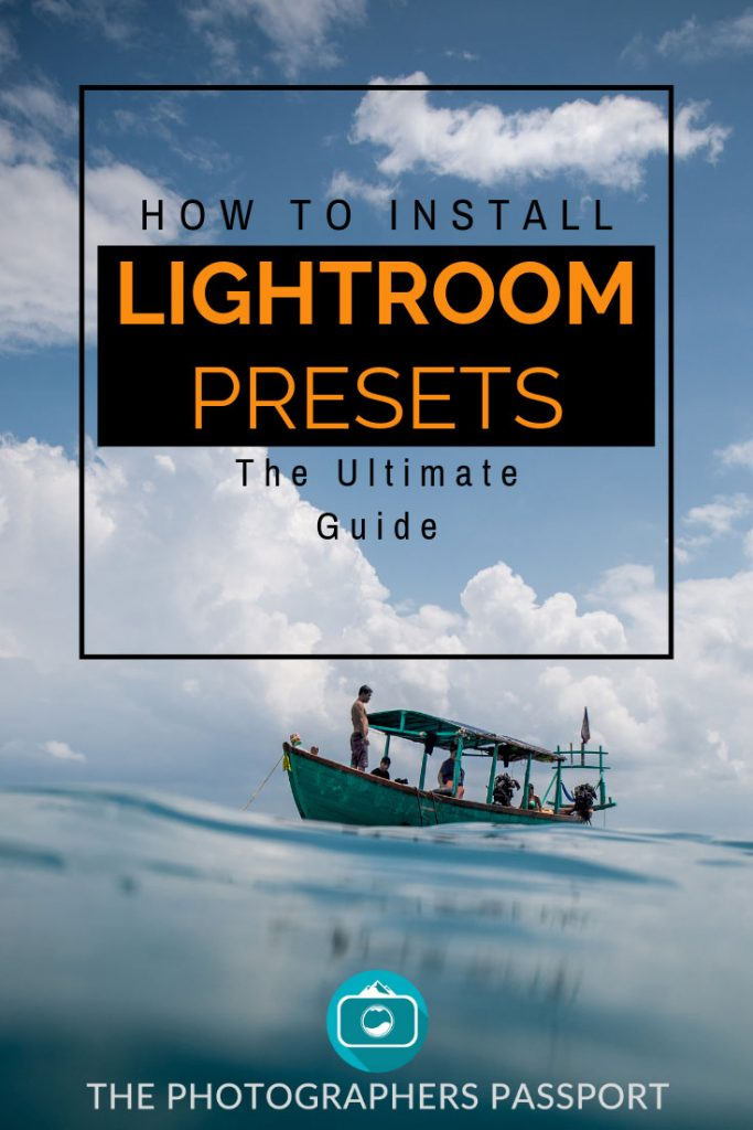 Looking to learn how to install your new Lightroom presets then follow this guide on how to install your Lightroom presets no matter what version of Lightroom you are using.