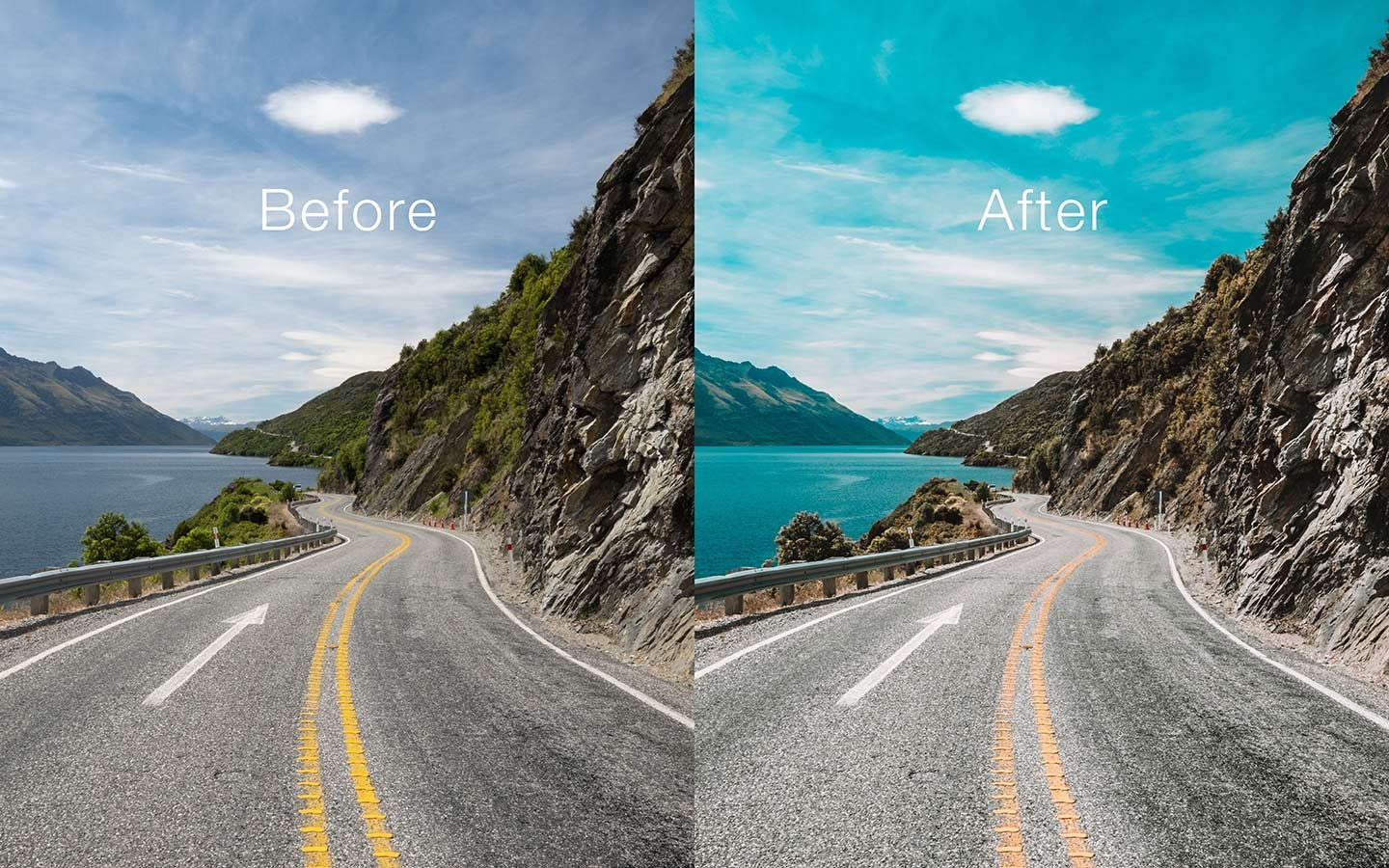 Lightroom presets are an extremely useful function within Lightroom. This photo shows the effect of using the Bali preset can have on your images.