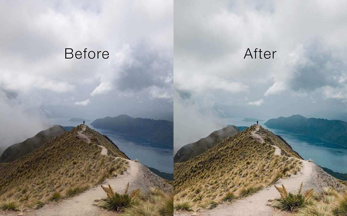 This is a comparison of the before and after of one of my photos. The before image shows an unedited raw image and the second one has been edited using a Lightroom preset called Dreaming. Its one of the most powerful Lightroom mobile presets you can find online as a free download.