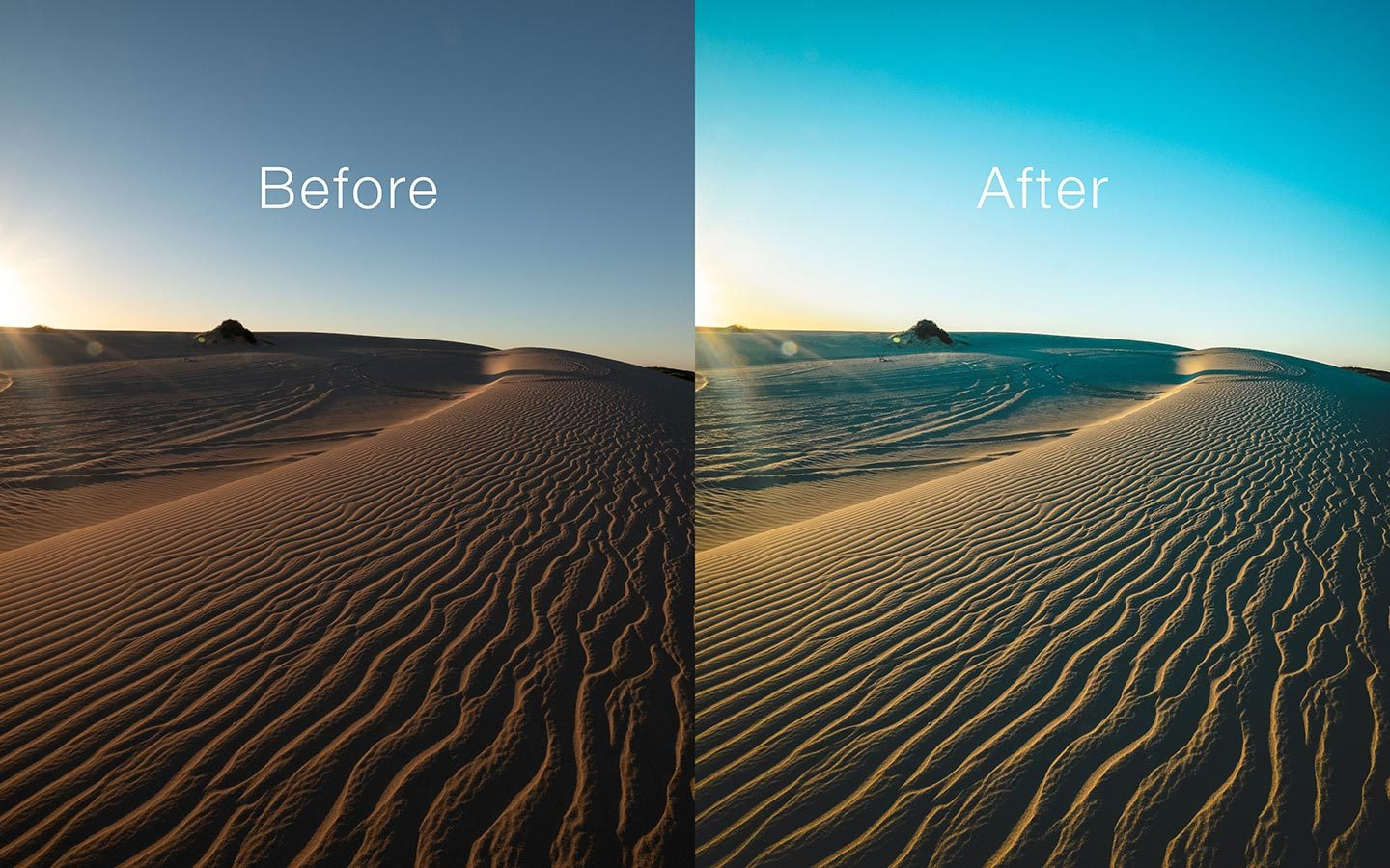 This is a comparison of the before and after of one of my photos. The before image shows an unedited raw image and the second one has been edited using a Lightroom mobile preset called Moscow Travel. Its one of the most powerful Lightroom mobile presets you can find online as a free download.