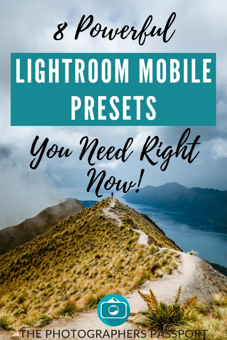 8 Powerful Lightroom Mobile Presets You Need Right Now