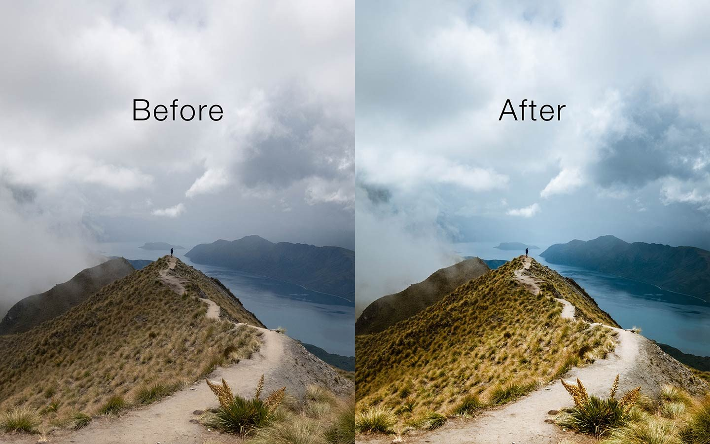 This is a comparison of the before and after of one of my photos. The before image shows an unedited raw image and the second one has been edited using a Lightroom mobile preset called Signal. Its one of the most powerful Lightroom mobile presets you can find online as a free download.