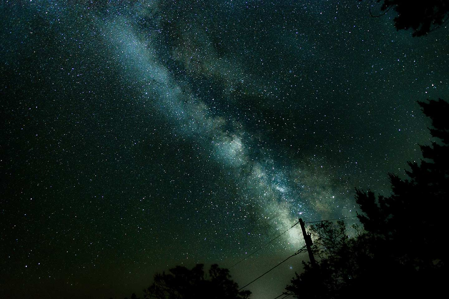 An image of the Milky Way fills the sky up with light. This is something the best camera for astrophotography will take very well.