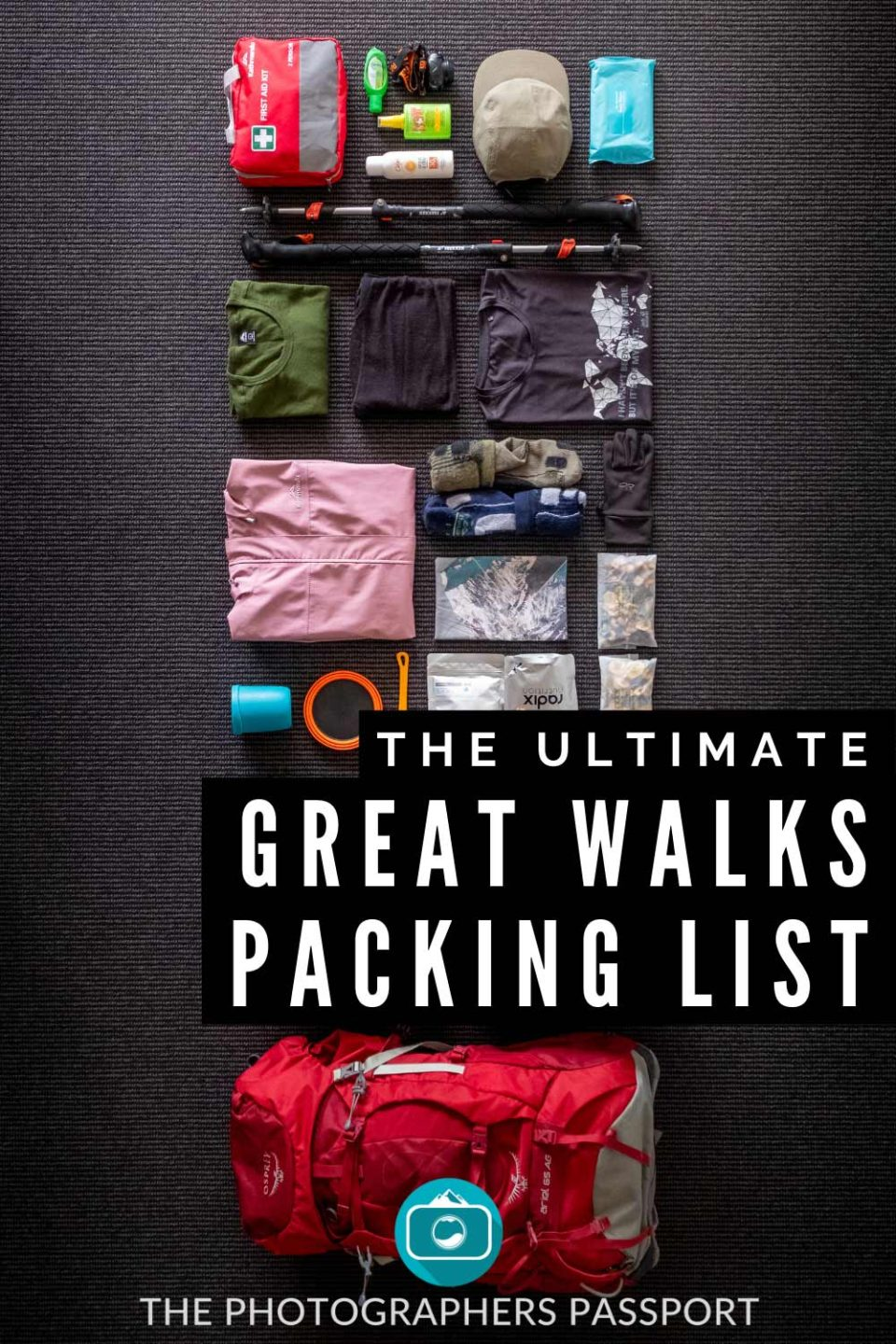 Need some help packing for your next New Zealand backpacking trip? Well then click here to find out exactly what to add to your Great Walks packing list.