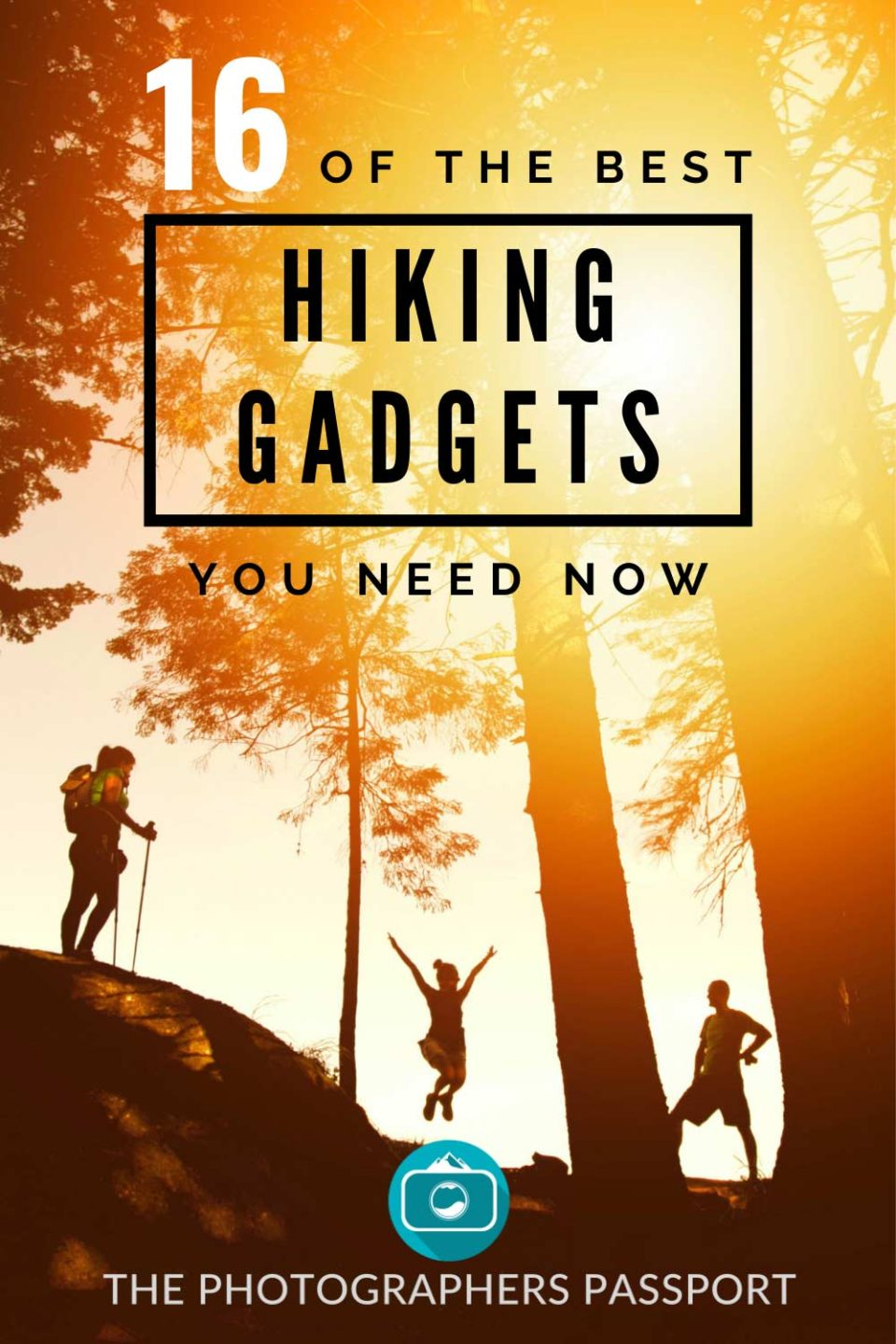 Check out 16 of the best hiking gadgets currently on the market.  From hiking watches, and solar panels, to water filters it's all here.